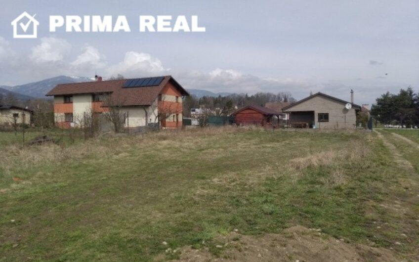 Predaj: rovinatý stavebný pozemok, 630 m2, Turčiansky Peter